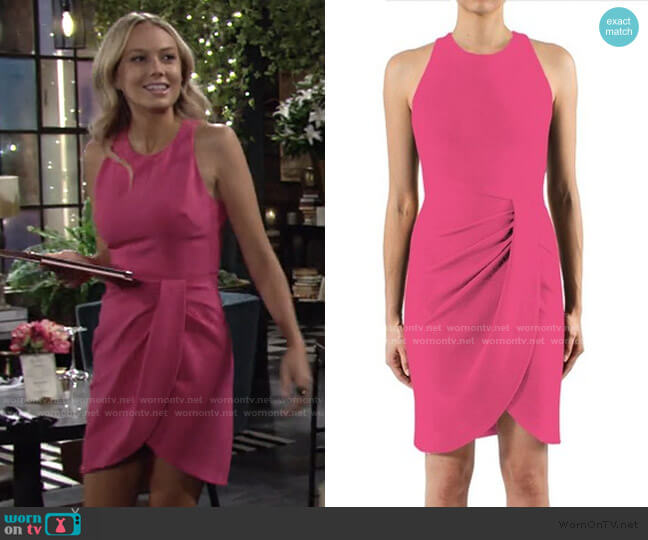 Brett Dress by Black Halo worn by Abby Newman (Melissa Ordway) on The Young & the Restless