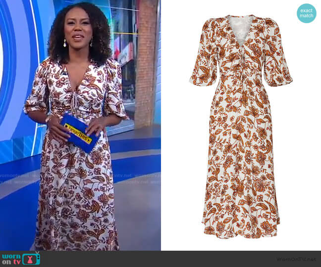 Danielle Dress by Nicholas worn by Janai Norman  on Good Morning America