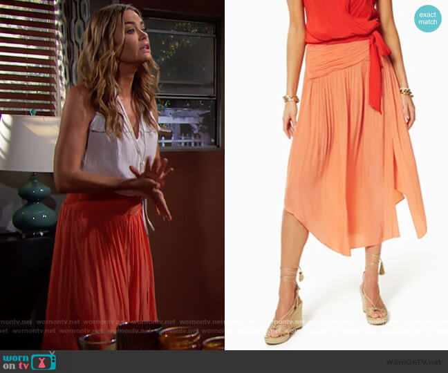 Jessy Skirt by Ramy Brook worn by Shauna Fulton (Denise Richards) on The Bold & the Beautiful