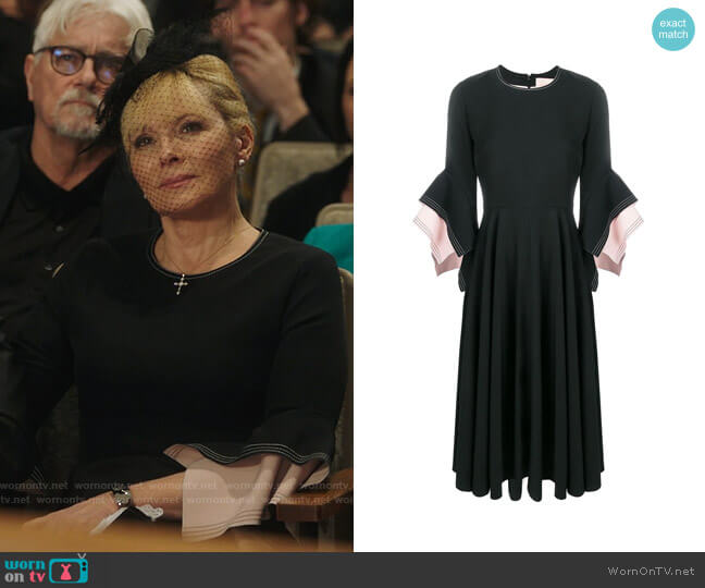 Roksanda Ayres Dress worn by Margaret Monreaux (Kim Cattrall) on Filthy Rich