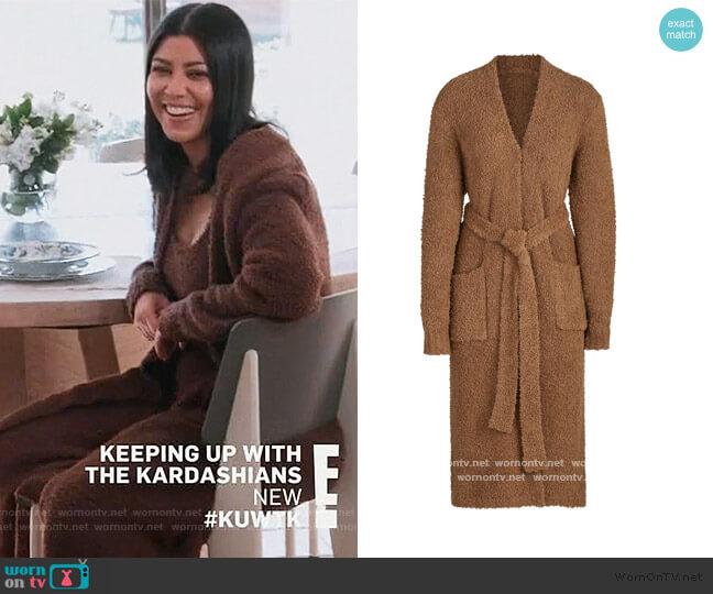 Cozy Knit Robe by Skims worn by Kourtney Kardashian  on Keeping Up with the Kardashians