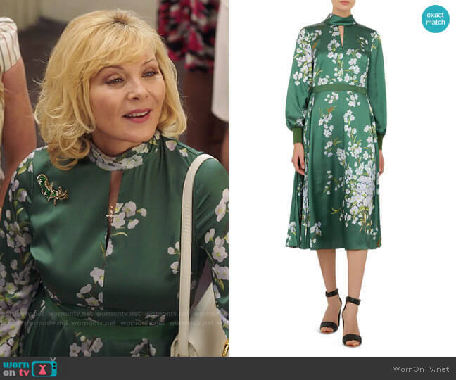 Ted Baker Jhenni Dress worn by Margaret Monreaux (Kim Cattrall) on Filthy Rich