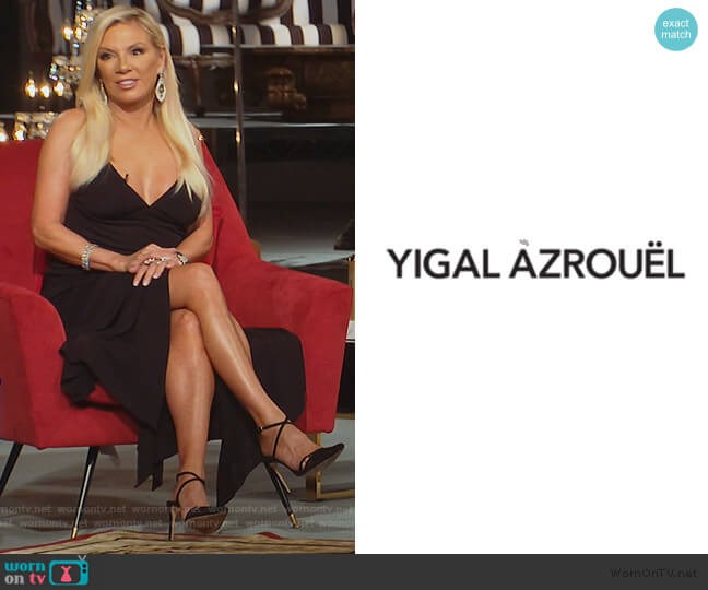 Vintage Dress by Yigal Azrouel worn by Ramona Singer  on The Real Housewives of New York City