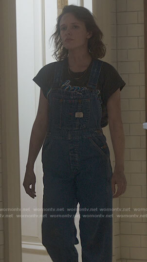 Jamie's denim overalls on The Haunting of Bly Manor