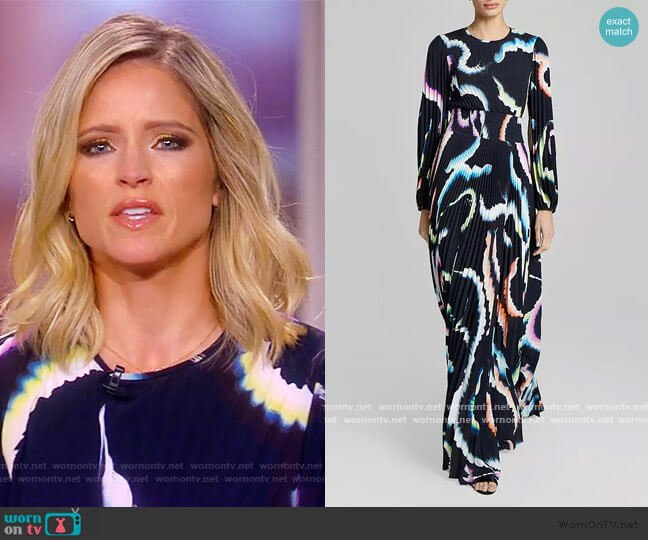 Leah Maxi Dress by A.L.C. worn by Sara Haines  on The View