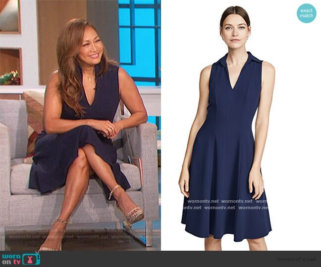 Romee Dress by Black Halo worn by Carrie Inaba  on The Talk