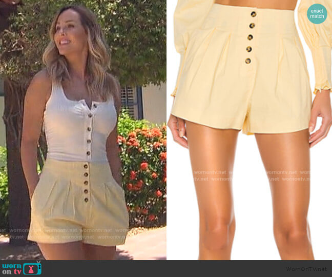 Hermosa Short by Camila Coelho worn by Clare Crawley  on The Bachelorette