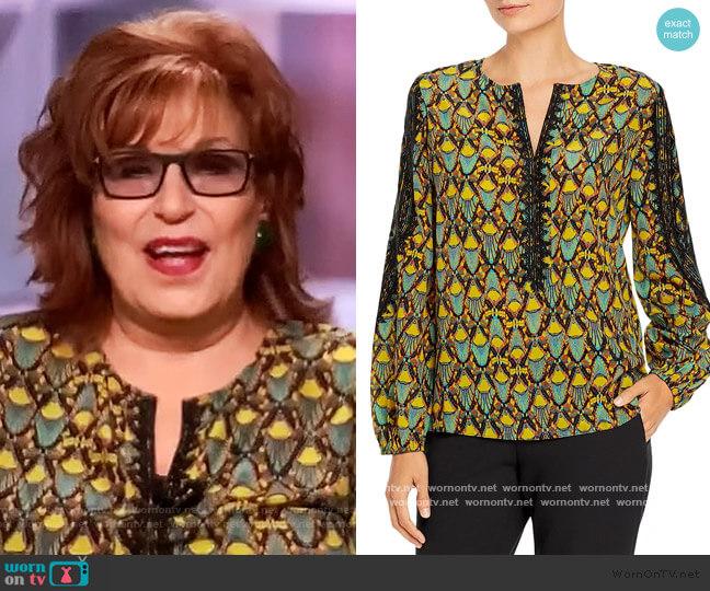 Freddie Silk Blouse by Kobi Halperin worn by Joy Behar  on The View
