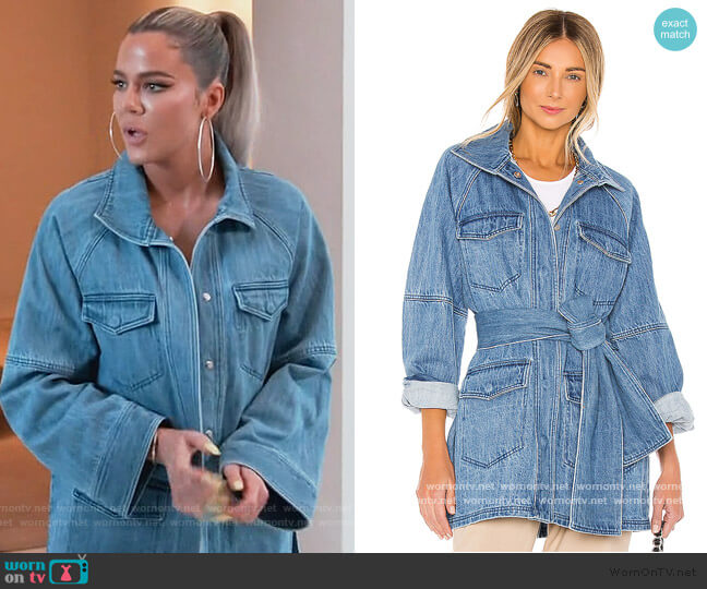 The Camillei Jacket by L'Academie worn by Khloe Kardashian  on Keeping Up with the Kardashians