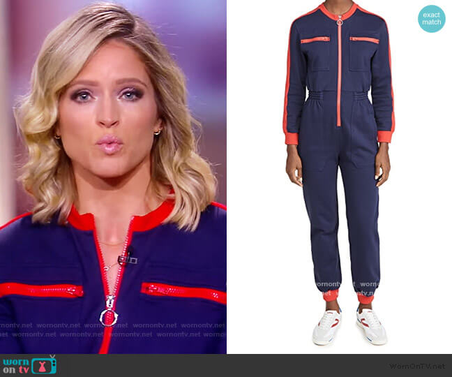Dom Boilersuit by L.F. Markey worn by Sara Haines  on The View