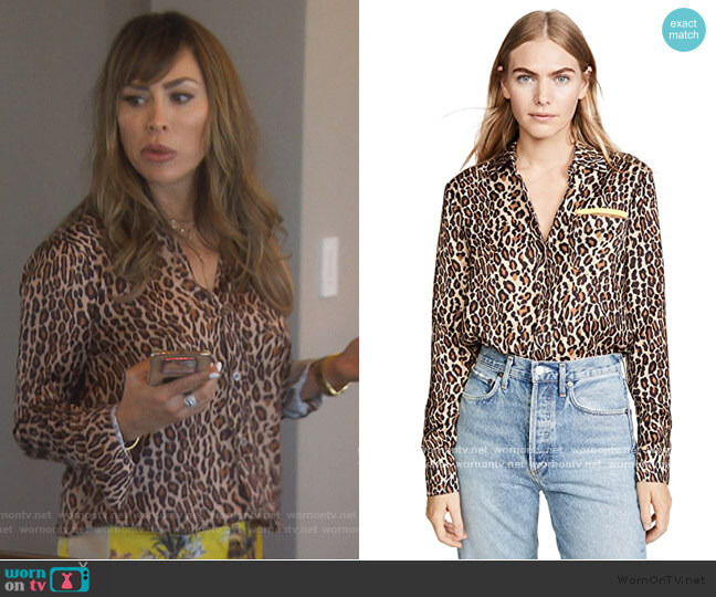 Future Ex BF Shirt by Le Superbe worn by Kelly Dodd  on The Real Housewives of Orange County