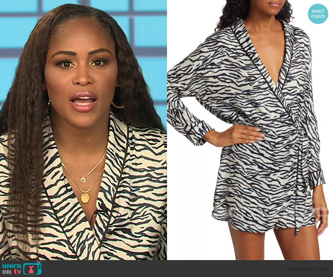 Sunset Marquis Romper by Le Superbe worn by Eve  on The Talk