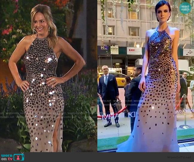 Randi Rahm Dress worn by Clare Crawley  on The Bachelorette