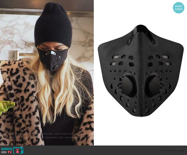 M1 Neoprene Mask by RZ worn by Khloe Kardashian  on Keeping Up with the Kardashians