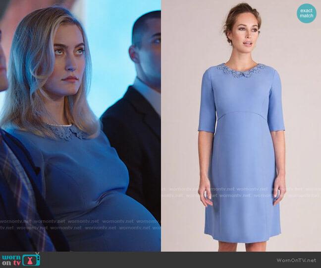 Seraphine Juliet Dress worn by Becky Monreaux (Olivia Macklin) on Filthy Rich