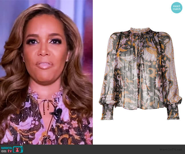 Anita Blouse by Ulla Johnson worn by Sunny Hostin  on The View