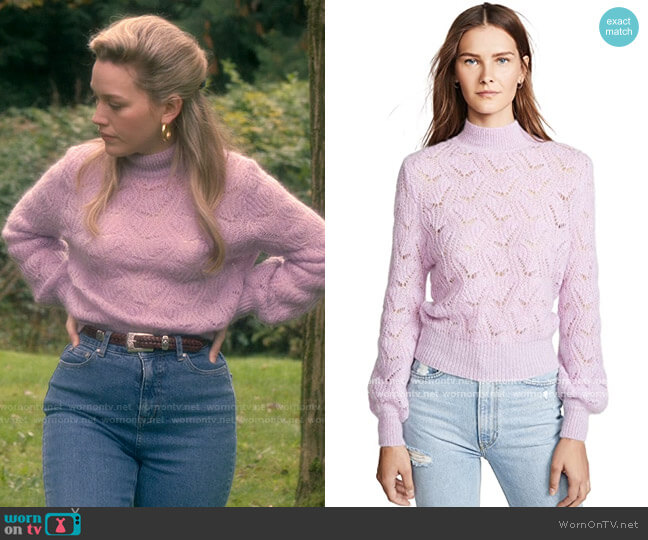 ASTR Audra Sweater worn by Danielle Clayton (Victoria Pedretti) on The Haunting of Bly Manor