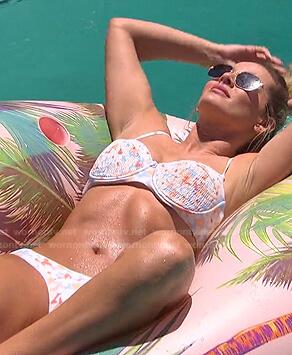 Clare's floral bikini on The Bachelorette