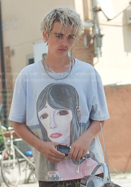 Fraser's girl print tee on We Are Who We Are