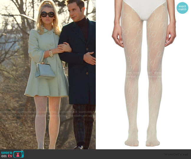 GG Tights by Gucci worn by Alice (Julia Schlaepfer) on The Politician