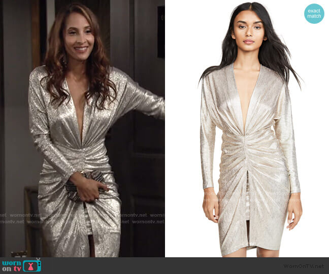Cilty Dress by Iro worn by Lily Winters (Christel Khalil) on The Young & the Restless