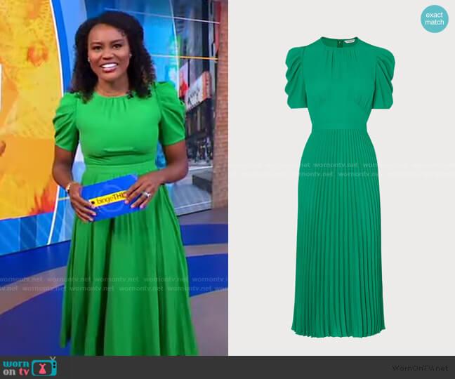 Avalon Dress by L.K. Bennett worn by Janai Norman  on Good Morning America