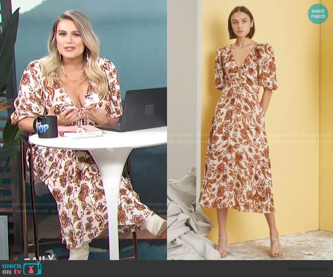 Danielle Dress by Nicholas worn by Carissa Loethen Culiner  on E! News