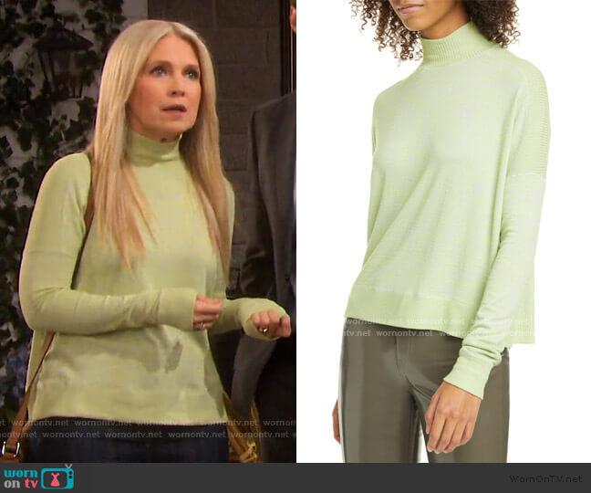 Avryl Turtleneck Sweater by Rag & Bone worn by Jennifer Horton (Melissa Reeves) on Days of our Lives