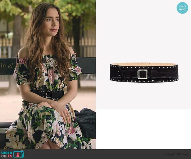 Field Waist Belt by Rag & Bone worn by Emily Cooper (Lily Collins) on Emily in Paris
