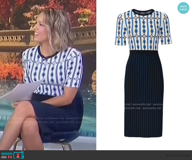 Melilla Dress by Shoshanna  worn by Dylan Dreyer  on Today