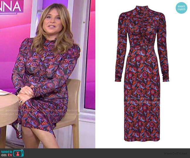 Zoe Dress by Tanya Taylor worn by Jenna Bush Hager  on Today
