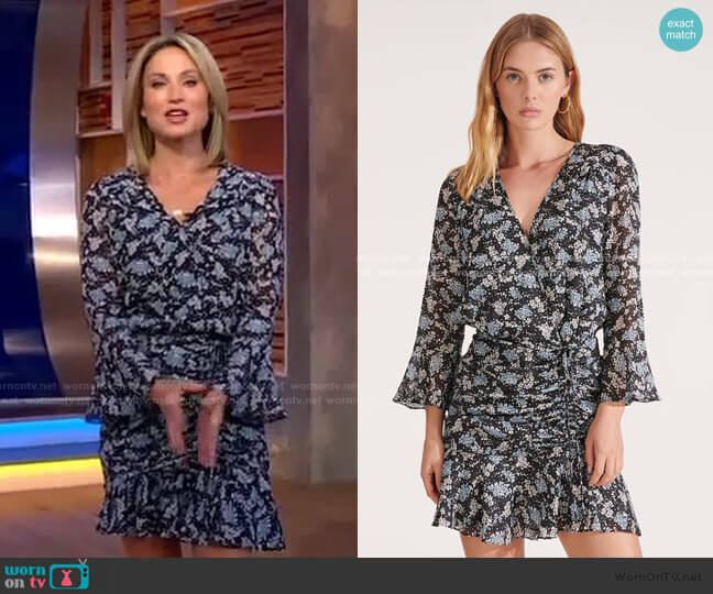 Sean Dress by Veronica Beard worn by Amy Robach  on Good Morning America