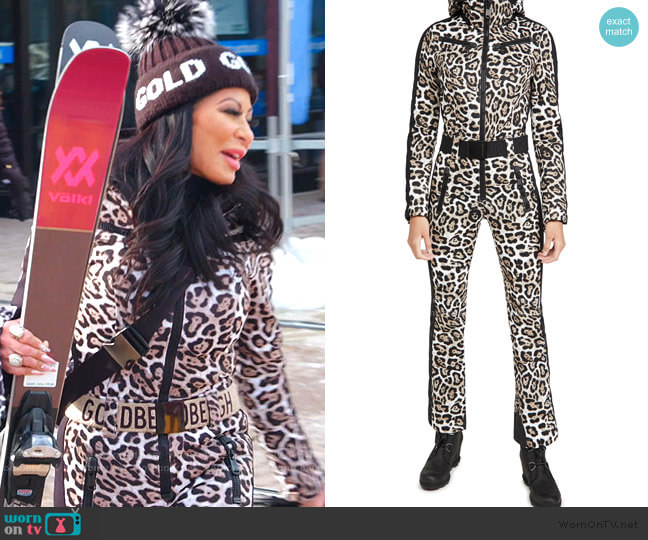 Cougar Jumpsuit by Goldbergh worn by Jen Shah  on The Real Housewives of Salt Lake City