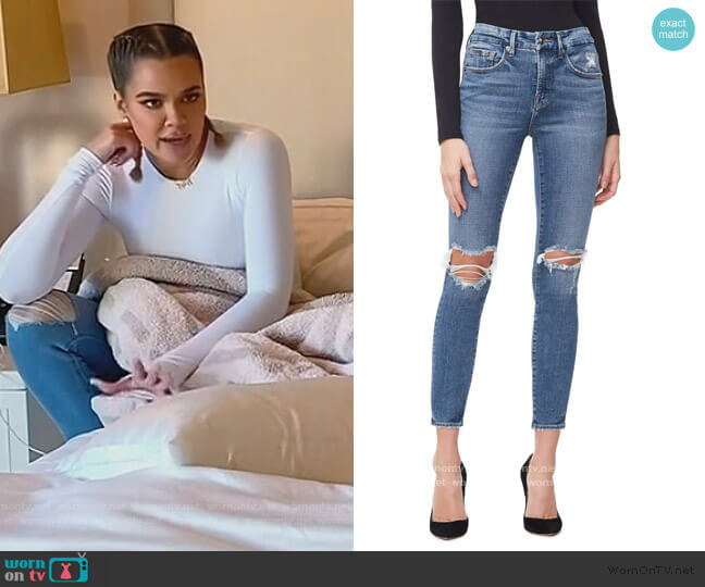 Good Legs Crop by Good American worn by Khloe Kardashian  on Keeping Up with the Kardashians