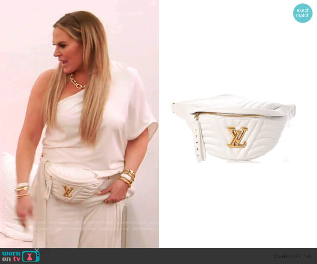 Monogram New Wave Bumbag  by Louis Vuitton worn by Heather Gay  on The Real Housewives of Salt Lake City
