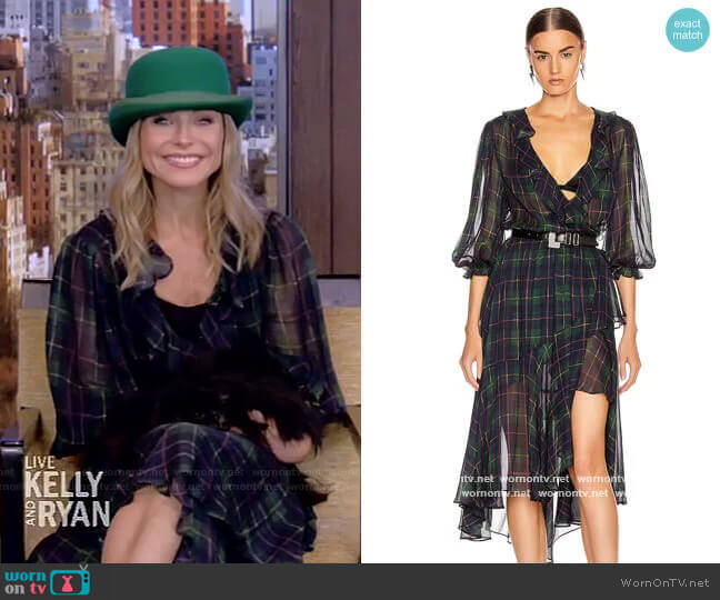 The Flamenco Dress by ICONS Objects of Devotion worn by Kelly Ripa  on Live with Kelly & Ryan