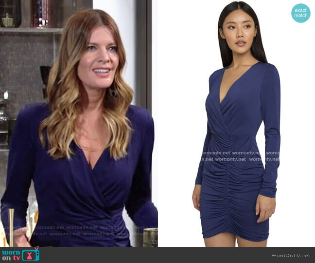 Black Halo Como Dress worn by Phyllis Summers (Michelle Stafford) on The Young & the Restless