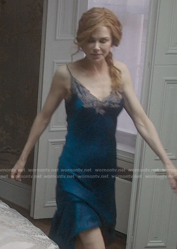 Grace's blue night gown on The Undoing