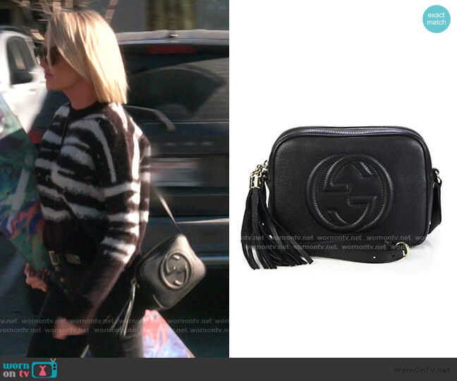 Soho Leather Disco Bag by Gucci worn by Whitney Rose  on The Real Housewives of Salt Lake City