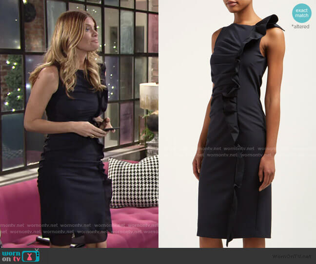 Cleo Dress by Max Mara worn by Phyllis Summers (Michelle Stafford) on The Young & the Restless