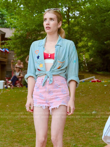 Sloan's July 4th outfit on Holidate