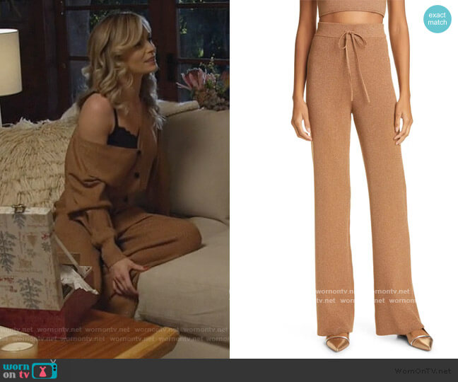 Quentin Pant by A.L.C. worn by Amy Quinn (Lindsey Gort) on All Rise
