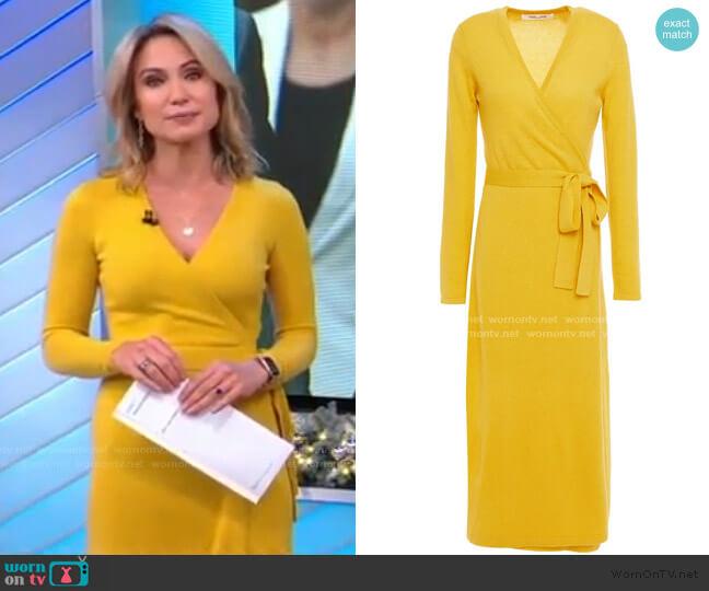 Astrid Wrap Dress by Diane von Furstenberg worn by Amy Robach  on Good Morning America