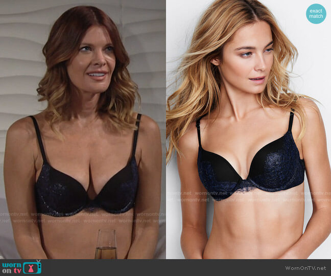 Bombshell Plunge Bra by Victorias Secret  worn by Phyllis Summers (Michelle Stafford) on The Young & the Restless