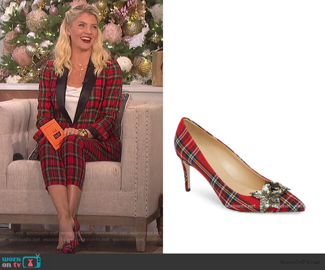 Lucie Pump by J. Crew worn by Amanda Kloots on The Talk worn by Amanda Kloots  on The Talk