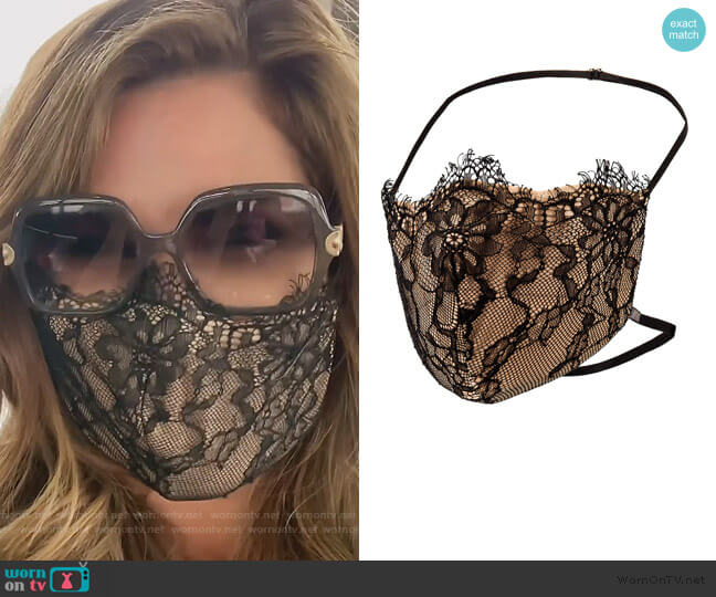 Provocateur Face Mask by Katie May worn by Emily Simpson  on The Real Housewives of Orange County