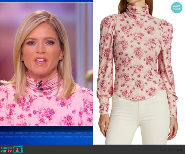 Vienna Tee by Love Shack Fancy worn by Sara Haines  on The View