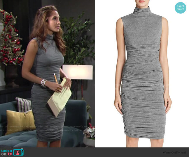 Ludlow Dress by Bailey 44 worn by Lily Winters (Christel Khalil) on The Young & the Restless