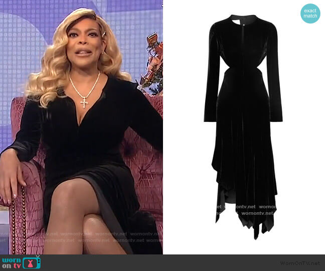 Long Dress by Marques Almeida worn by Wendy Williams  on The Wendy Williams Show