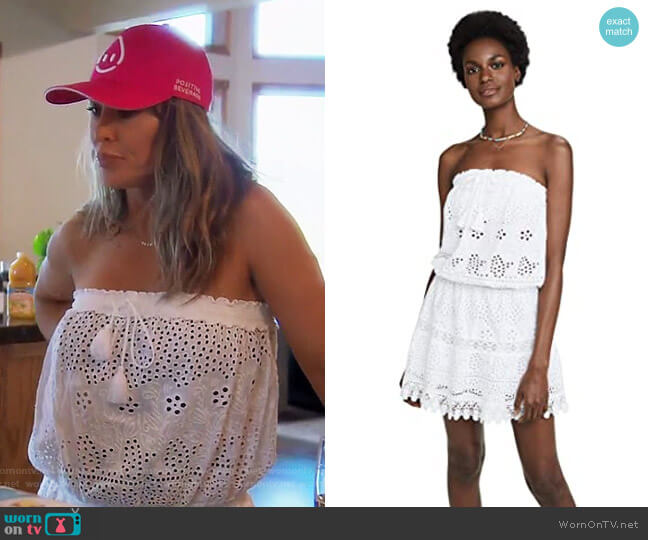 Iris Cover Up Dress by Melissa Odabash worn by Kelly Dodd  on The Real Housewives of Orange County